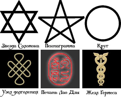 Как рисовать магические символы
